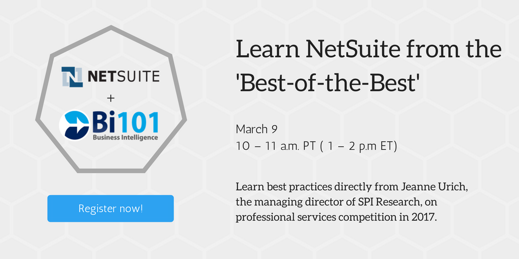 Webinar: Learn NetSuite from the 'Best-of-the-Best' in Professional Services